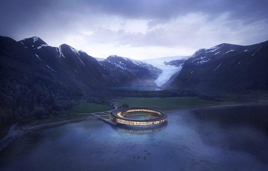 5 фото інопланетного готелю в Норвегії