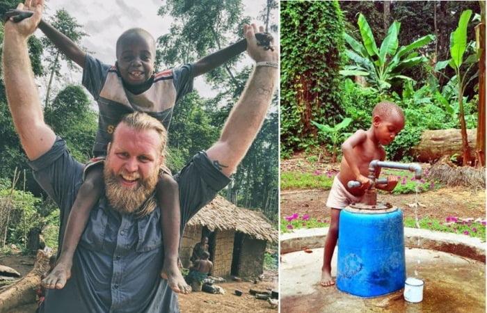 Колишній боксер переміг депресію і відправився боротися з рабством в Конго