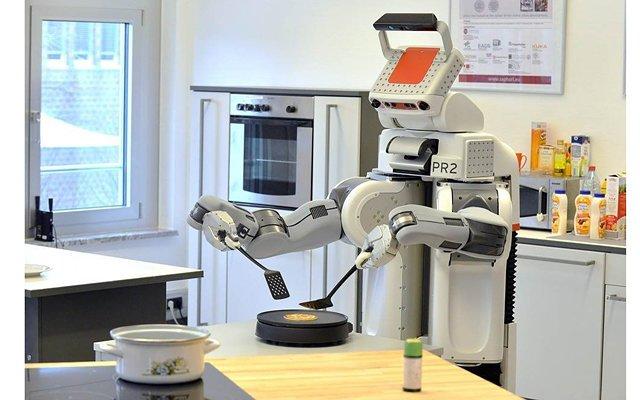 В америці роботи готують їжу