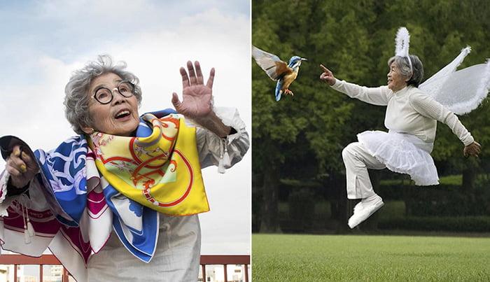 90-річна бабуся Кіміко з Японії підкорила соцмережі