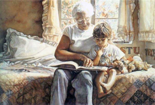 Твір дитини про бабусю, який зворушив моє серце