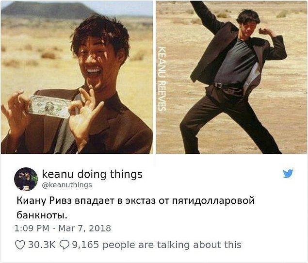15 кумедних і дивних фотографій про Кіану Рівза і його незвичайне життя