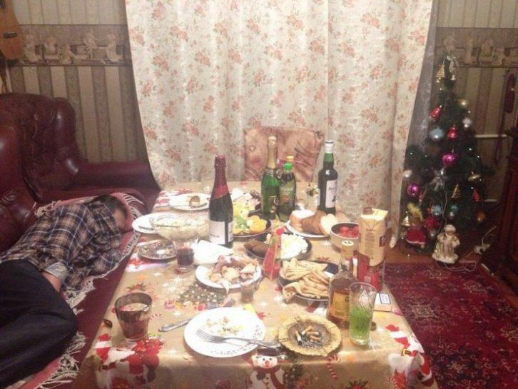 Як відгуляли Новий рік
