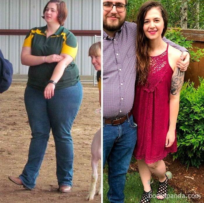 33 випадки, коли хтось втратив 45+ кілограм - і став зовсім іншою людиною
