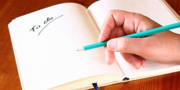 Склали список справ на новий рік? А тепер подивіться, чому ви його не виконаєте!