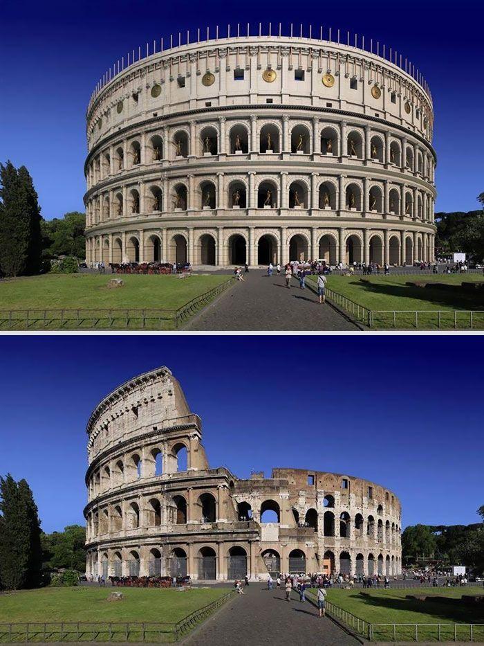 11 знаменитих давньоримських споруд - тоді і зараз