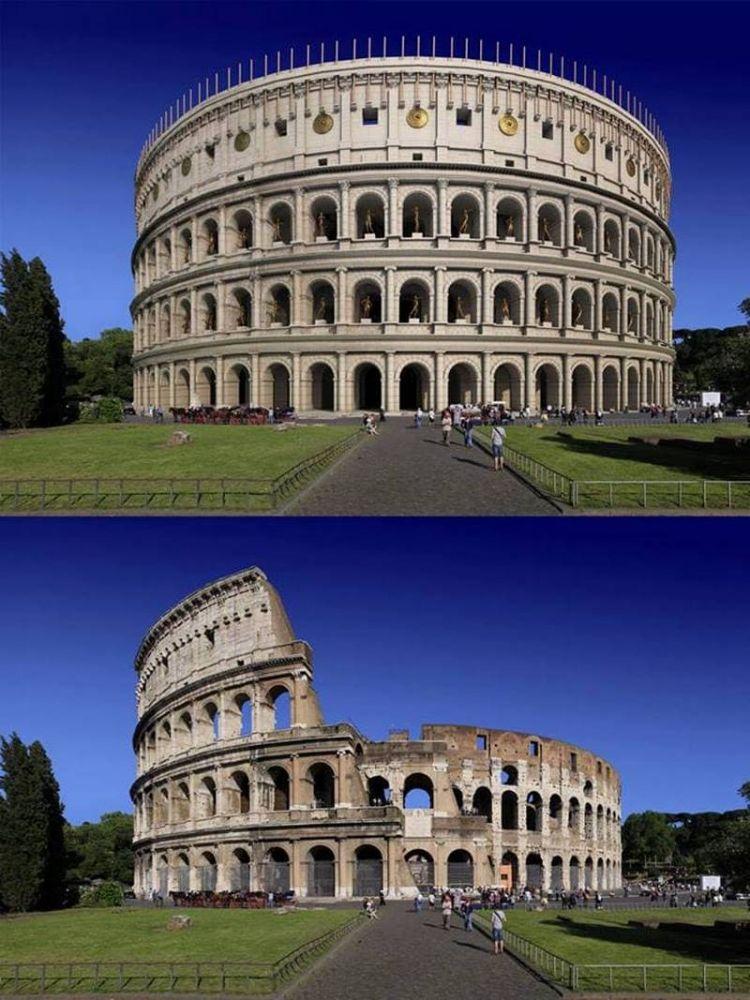 12 культовых сооружений Римской империи 2000 лет назад и что от них осталось сейчас