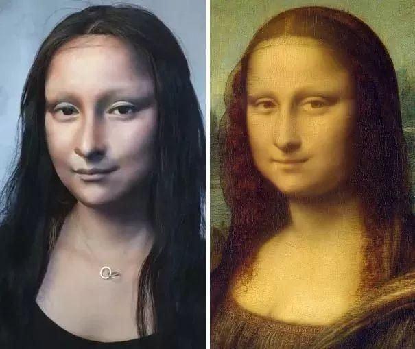 Дівчина-візажист перевтілюється у відомих особистостей за допомогою макіяжу