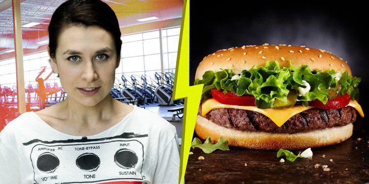 Лайвчек: cкільки потрібно тренуватися, щоб спалити калорії від фастфуду