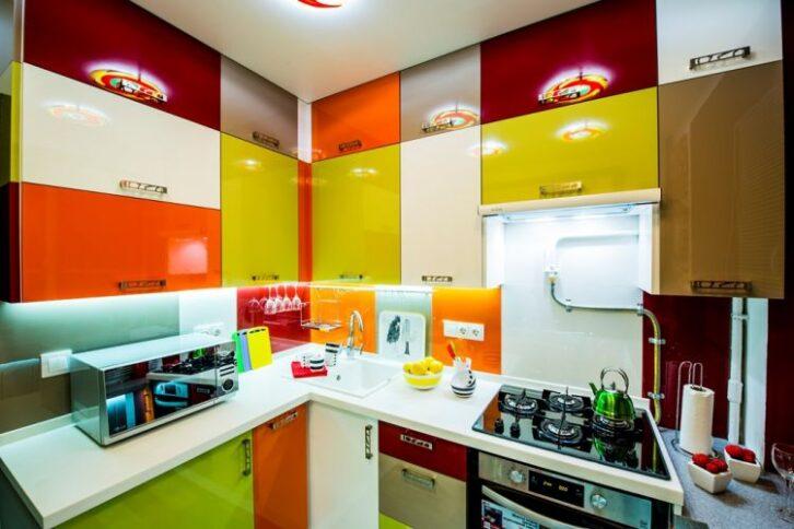 """Кухня площею в 6 кв.м. """"До"""" і """"після"""" невеликого ремонту 13"""