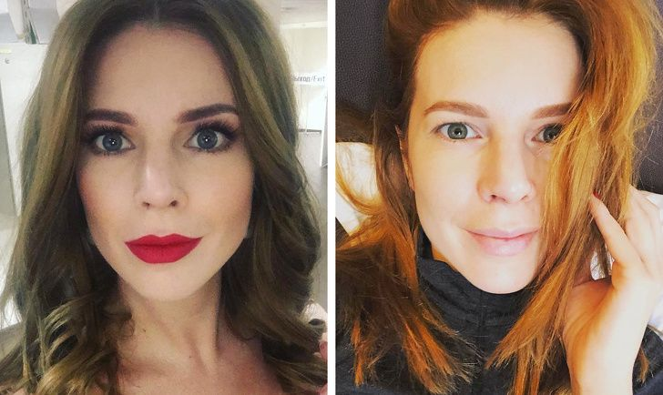 18 російських знаменитостей, які не соромляться фотографуватися без макіяжу