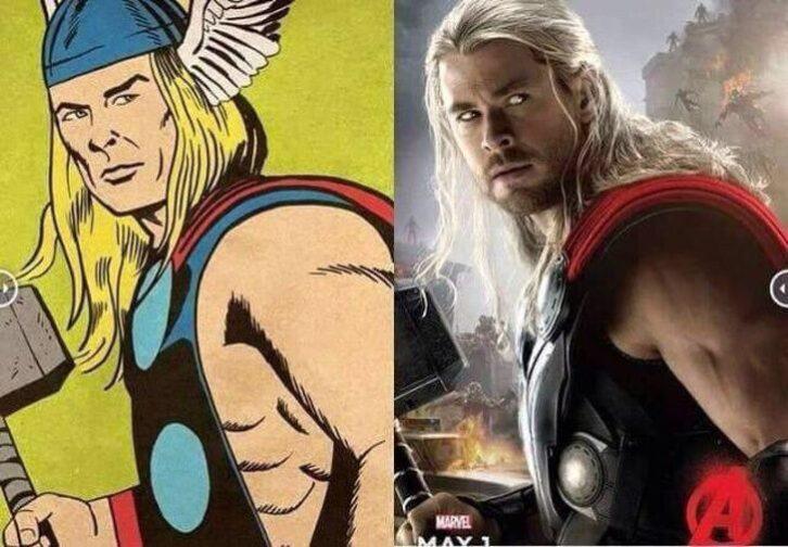 Як виглядали 18 героїв фільмів в оригінальних коміксах