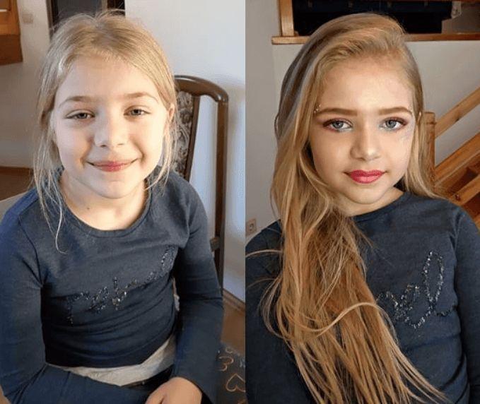 В Інтернеті розгорілися суперечки з приводу маленьких дітей з макіяжем
