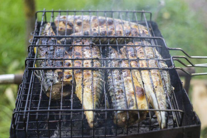 Рецепт скумбрії на грилі