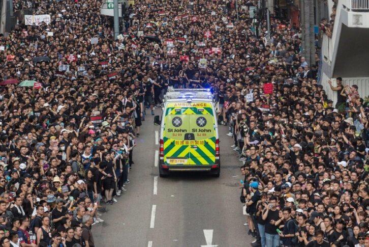 Чому весь світ захоплюється гонконгцями, що вийшли на демонстрацію
