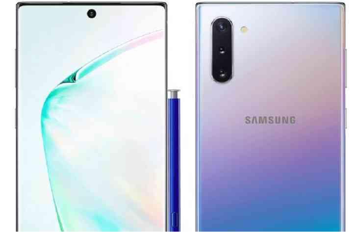 У мережу потрапили характеристики Galaxy Note 10+ від Samsung