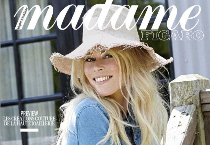 Клаудія Шиффер стала героїнею нового випуску відомого французького видання (ФОТО)