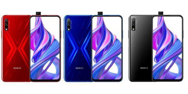 Honor 9X і Honor 9X Pro: нові смартфони з потужним процесором і висувною камерою