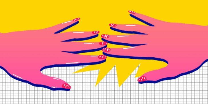Чому з'являються білі плями на нігтях