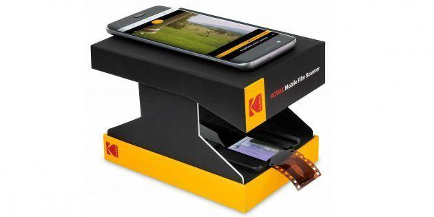 Kodak представила картонний сканер плівки для iOS і Android